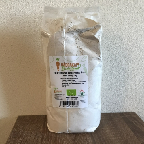 Bio félbarna Tönkölybúzaliszt - 1 kg