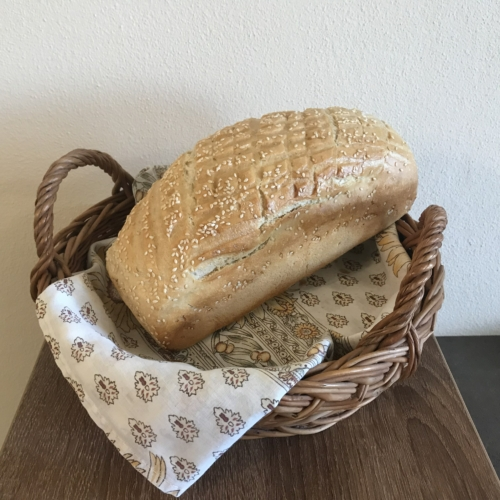 Szezámmagos kenyér - 0,5 kg